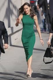 dress gal gal gadot style file