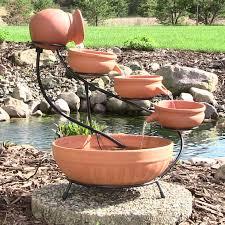 fresh cool solar powered water fountain pump home de 24481