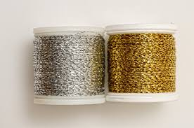 goldwork embroidery thread gold and silver madeira metallic