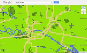 Giigle Maps Retro Weltreise Mit Google Maps 8 Bit Berliner Zeitung