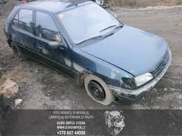 peugeot car 306 peugeot 306 1993 1 4 mechaninė 4 5 d 2014 1 03 a1279 used car
