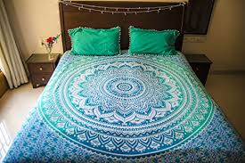 hippie mandala tapestry bedding with pillow covers bohemian wall