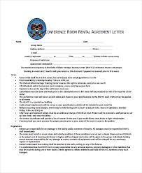 rental agreement letter u2013 7 word pdf documents download free