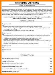 truck driver resume sample 4 truck driver resume sample authorize letter