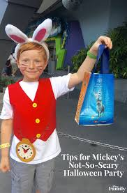 Disney Halloween Costumes For Family by Tips For Mickey U0027s Not So Scary Halloween Party Disney Family