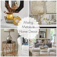 Mixing Metals In Bathroom Mixing Metals In Home Decor How To Mix Metals Well Metal