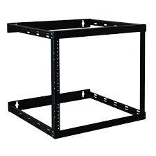 8u wall mount cabinet tripp lite wall mount 2 post open frame rack cabinet 8u 14u 22u