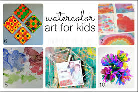 watercolor for 10 colorful ideas