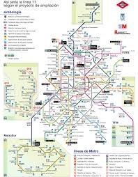 Madrid Metro Map by Madrid Public Transport Page 8 Skyscrapercity