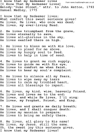 Best Resume Font Type And Size by Old English Song Lyrics For I Know That My Redeemer Lives With Pdf