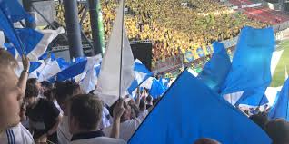 VVS messe on Br¸ndby stadion