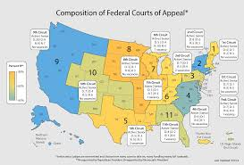 Federal Circuit Court Map Map Of United States Federal Court Circuits Pictures To Pin On