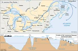 st seaway map river students britannica homework help