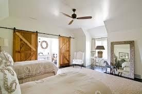 Bedrooms  Bedroom Idea With Dark Barn Sliding Door To Bathroom - Sliding doors for bedrooms