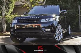 2014 Land Rover Range Rover Sport Range Rover Sport Autobiography