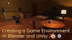 creating a game environment in blender and unity promo youtube
