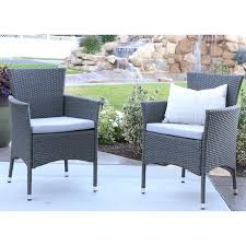 Patio Dining Chairs With Cushions Angelo Home Baxter Patio Dining Chair With Cushion Reviews Wayfair