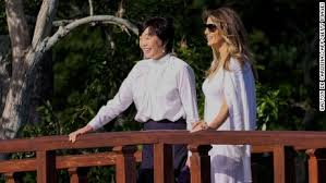arrives in japan in five country asian tour cnnpolitics