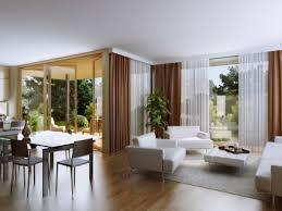 wooden laminate flooring in modern style living room design for