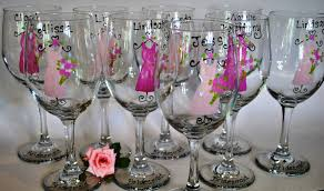 wedding favor glasses wedding gifts wine glasses lading for