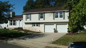 Updating Exterior Of Split Level Home - before and after split level home in southern new jersey next