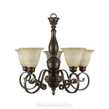 5 light bronze chandelier hton bay carina 5 light chandelier amazon com