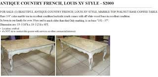 french style coffee table country french coffee tables coffee drinker