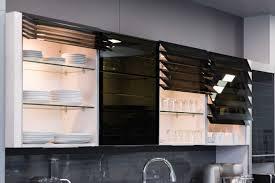 grand placard cuisine verre pour porte de cuisine beautiful etape finition des joues