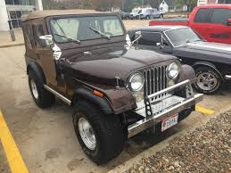 jeep golden eagle interior lot shots find of the week 1977 jeep cj 5 onallcylinders