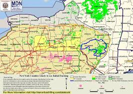 Counties In Ny State Map Mdn Map Of Ny Counties Likely To See Initial Fracking Free