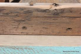 How To Build A Reclaimed by Beyond The Picket Fence How To Make A Reclaimed Wood Bench Coffee