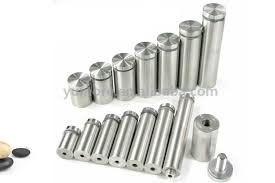 Decorative Stainless Steel Screws Soliding Glass Screws Stainless Steel Decorative Spacers Mirror