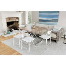 transforming x light wood finish coffee and dining table co 2219