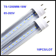 4ft led tube light aliexpress com buy 4ft led tube light 1200mm t8 18w 22w ac85v 265v