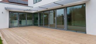 Patio Bi Folding Doors by Triple Glazed Bi Folding Patio Doors Image Collections Glass