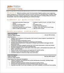 Civil Engineer Resume Sample Pdf Engineering Cover Letter Templates Resume Genius Resume Format