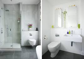 Modern White Bathroom Ideas Bathroom Modern White Interior Bathroom With Concrete Wall Glass