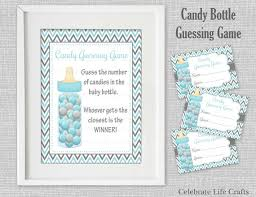 baby shower guessing baby shower printable candy bottle guessing sign and