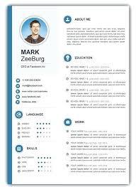 pdf resume template resume free creative resume templates
