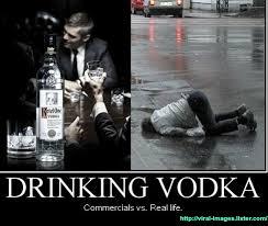 Vodka Meme - vodka commercials vs real life imgur
