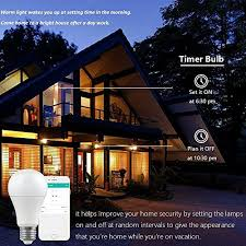 google home automation lights wifi smart led light bulb compatible with alexa google home ifttt