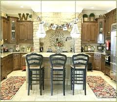 Top Of Kitchen Cabinet Decor Ideas Decorating Top Of Kitchen Cabinet Veseli Me