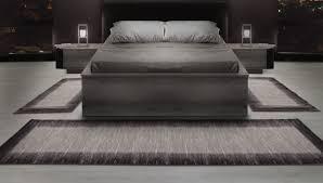schlafzimmer teppich braun bettumrandungen läufer teppiche modern designer für wohnzimmer
