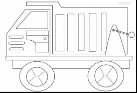 fabulous fire truck coloring pages printable with dump truck