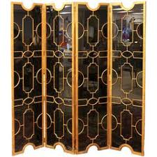 Antique Room Divider by Antique Screen Room Divider Four Fold Victorian Leather Embossed