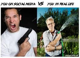 Memes Irl - you on social media vs you in real life memes irl pinterest
