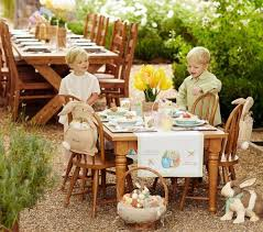 Easter Yard Decoration Ideas by Cool Easter Decoration Ideas With Easter Bunny And Colorful Easter