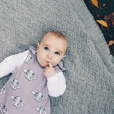 organic baby dungarees in grey cow print design by maebelle u0026 bo