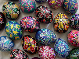 wax easter egg decorating pysanka susan benarcik