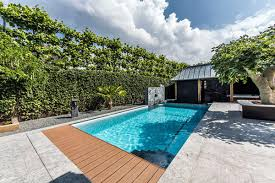 Backyard Rooms Ideas Elegant Backyard Pool Design With Glass Material U2013 Pool Design